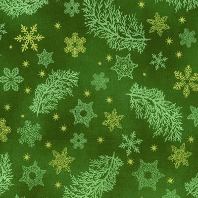 【雑貨/USAコットン/ROBERT KAUFMAN(ロバートカフマン)】C-78/クリスマスプリント布 カットクロス50cm×55cm
