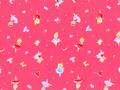 【雑貨/国産プリント/ルシアン】U-420/バレリーナ柄 カットクロス50cm×55cm
