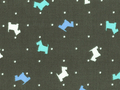 【雑貨/USAコットン/Michael Miller(マイケルミラー)】U-426/スコッティ 50cm×55cm
