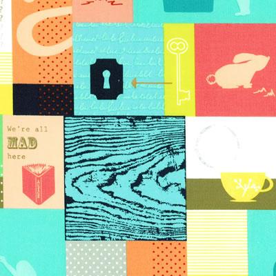 【雑貨/USAコットン/ウィンダムファブリックス(Windham Fabrics)】HH-82/アリス ALICE カットクロス50cm×55cm