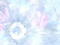 【雑貨/USAコットン/バティック】HHH-16/ドーナツホール 50cm×55cm
