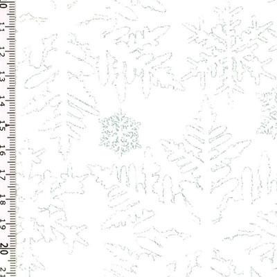 【雑貨/USAコットン/HOFFMAN(ホフマン)】C-96/雪の結晶 50cm×55cm