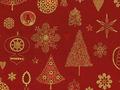 【雑貨/USAコットン/STOF(ストフ) 】C-99/クリスマスオーナメント 50cm×55cm