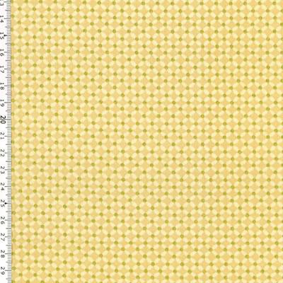 【雑貨/USAコットン/STOF(ストフ) 】C-102/ゴールドラティス 50cm×55cm