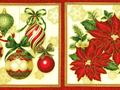 【雑貨/パネル/ROBERT KAUFMAN(ロバートカフマン)】P-59/クリスマスパネル サイズ:30cm×110cm