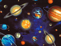 【雑貨/USAコットン/ROBERT KAUFMAN(ロバートカフマン)】HH-96/宇宙 50cm×55cm