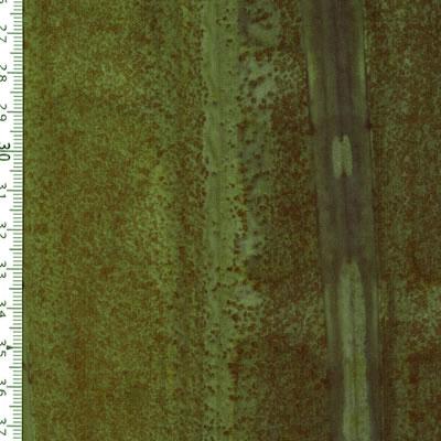 【雑貨/USAコットン/バティック】HHH-27/グリーンストライプ 50cm×55cm