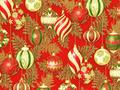 【雑貨/クリスマス/ROBERT KAUFMAN(ロバートカフマン)】C-122/クリスマスオーナメント 50cm×55cm