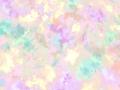【雑貨/国産プリント/ルシアン】U-474/サニースプラッシュ(パープル系) 50cm×55cm