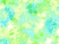 【雑貨/国産プリント/ルシアン】U-476/サニースプラッシュ(グリーン系) 50cm×55cm