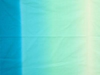 【雑貨/国産プリント/ルシアン】H-122/レインボーカラーズ(ブルー) 1m(幅112cm)