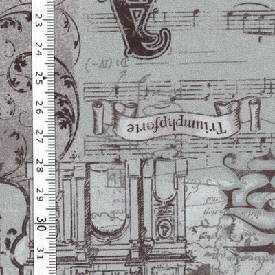【雑貨/USAコットン/lecien】U-487/音楽会 50cm×55cm