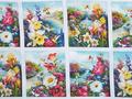 【雑貨/パネル/Elizabeth's Studio(エリザベス・スタジオ)】P-83/Pictures of flowers サイズ:60cm×110cm