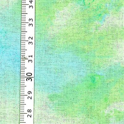 【雑貨/USAコットン/サニースプラッシュ】U-504/イエローグリーン  50cm×55cm