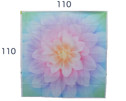 【雑貨/パネル/HOFFMAN(ホフマン)】P-91/Dream Big(レインボー) サイズ:110cm×110cm