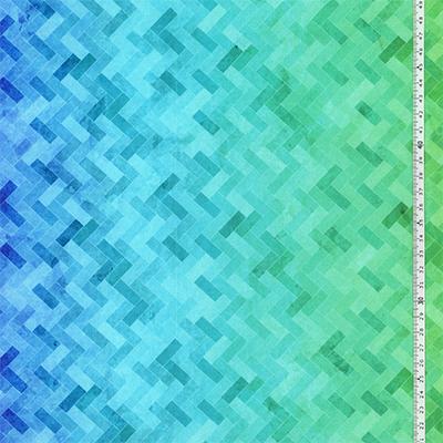 【雑貨/USAコットン/ROBERT KAUFMAN(ロバートカフマン)】HHHH-1/レインボーグラデーション 50cm×110cm