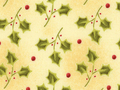 【雑貨/USAコットン/クリスマス/Red RooSter】C-139/ヒイラギSHOW 50cm×55cm