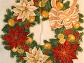 【雑貨/パネル/ロバートカフマン】P-103/Holiday Flourish サイズ:110cm×60cm