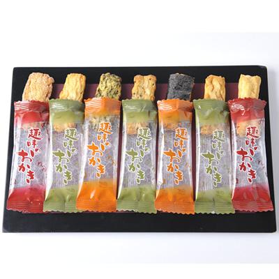 包みおかき 約34本入/220g 〜7種類の味の饗宴〜