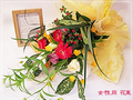 【花のギフト・プレゼント】誕生日/新築祝/結婚祝/出産祝にフラワーギフト。 お花と占い(西洋占星術)のセット(女性用:花束)