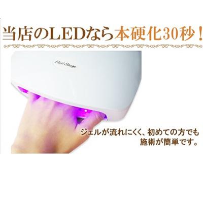 ジェルネイル LED/UVビルダージェル クリア(長さ出し専用ジェル)