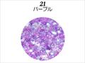 【ラメグリッター/ジェルネイル】 レーヌ森ブレンドグリッター 21.パープル/8g(高級ネイルケース付