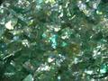 【ラメグリッター/ジェルネイル】 オーロラ2 76.乱切りミントグリーン /3g