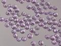 ジェルネイル/ラインストーンアクリル】ニュータイプ パープル 3mm/100粒