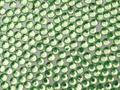 【ジェルネイル/ラインストーン】 10.アクリル ライトグリーン /3mm 1000粒パック