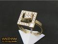 【ジュエリー/WALTHAM(ウォルサム)/指輪】K18 ダイヤモンドアートムービングジュエリー(Art Moving Jewelry)
