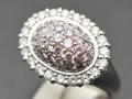 ★ 5%OFF ★【ジュエリー/ダイヤモンド/指輪】PT ピンクダイヤモンドリング D/1.53カラット