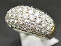 【ジュエリー/ダイヤモンド/指輪】PTK18 ダイヤモンドリング D/2.97カラット