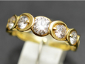 ★ 5%OFF ★【ジュエリー/ダイヤモンド/指輪】K18 ダイヤモンドリング D/1.00カラット