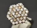 【ジュエリー/ダイヤモンド/指輪】K18WG ダイヤモンドリング D/2.00カラット