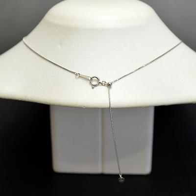 【ジュエリー/ダイヤモンド/ネックレス】PT ダイヤモンドペンダントネックレス D/0.320カラット