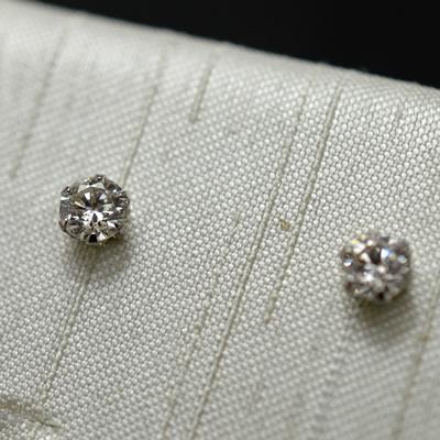 【ジュエリー/ダイヤモンド/ピアス】PT ハート&キューピットダイヤモンドピアス D/0.30カラット
