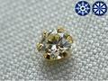 【ジュエリー/ダイヤモンド/ピアス】K18 ハート&キューピットダイヤモントピアス D/0.10カラット