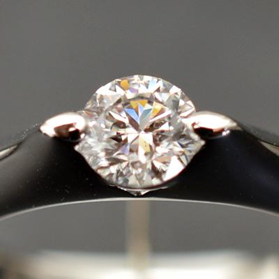 ★ 5%OFF ★【ジュエリー/ダイヤモンド/指輪】PT ハート&キューピット ダイヤモンドリング D/0.501カラット
