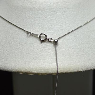 【ジュエリー/ダイヤモンド/ネックレス】PT ダイヤモンドペンダントネックレス D/0.54カラット