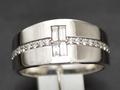 【ジュエリー/ダイヤモンド/指輪】PTダイヤモンドリング D/0.50カラット