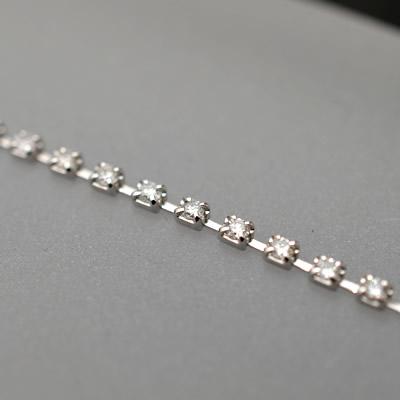 【ジュエリー/ダイヤモンド/ブレスレット】PT ダイヤモンドテニスブレスレット D/1.08カラット