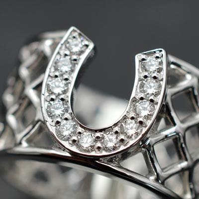 【ジュエリー/ダイヤモンド/指輪】PTダイヤモンドリング D/0.33カラット