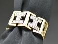 【ジュエリー/ダイヤモンド/指輪】K18PT950ダイヤモンドリング D/0.20カラット