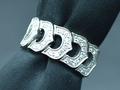 【ジュエリー/ダイヤモンド/指輪】PT950ダイヤモンドリング D/0.33カラット