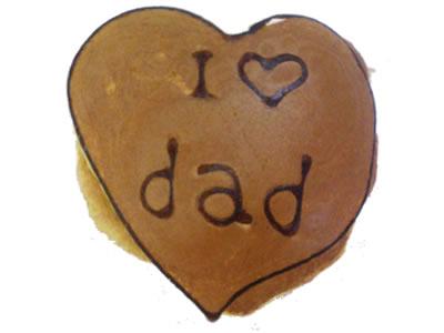 アイラブダドゥどら 〜父の日:パパありがとうどら焼き