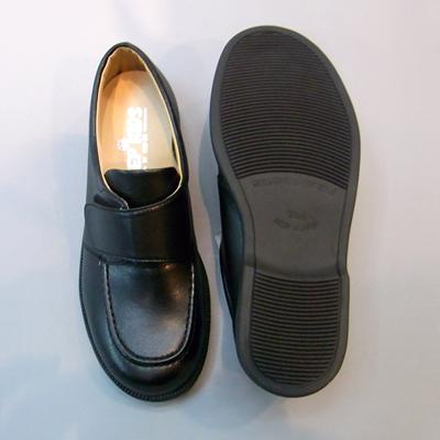 通学靴:ステップアップキッズ(STEP UP KIDS) ST2188:ベルクロタイプ(人工皮革:靴のキング堂オリジナル)/15.0cm