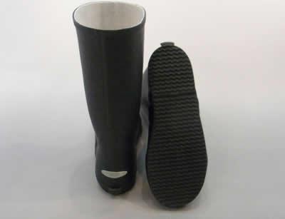 【たためる長靴】レインシューズ(長靴):モントレICB726 ネイビー/19.0cm