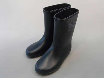 レインシューズ(長靴):ポプキンズ(POMPKINS)レインシューズ ネイビー/13.0cm