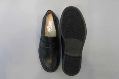 やわらかいローファーST1189(足幅細めタイプ)ステップアップキッズ(STEP UP KIDS)人工皮革:靴のキング堂オリジナル通学靴/21.5cm