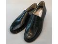 光沢ツヤありローファー ステップアップキッズ(STEP UP KIDS)ST3189革素材:靴のキング堂オリジナルローファー通学靴/22.0cm